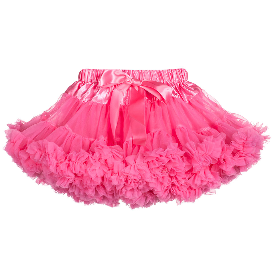 Baby Girls Tutu Skirt Ballerina Pettiskirt Fluffy Children Ballet Kids Pettiskirt Baby Girl Skirts Princess Tulle Party Skirt