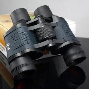 Image 5 - Бинокль высокой мощности HD 10000M 60X60, бинокль с фиксированным оптическим зумом, высокая четкость, Lll, ночное видение, бинокль для охоты на открытом воздухе