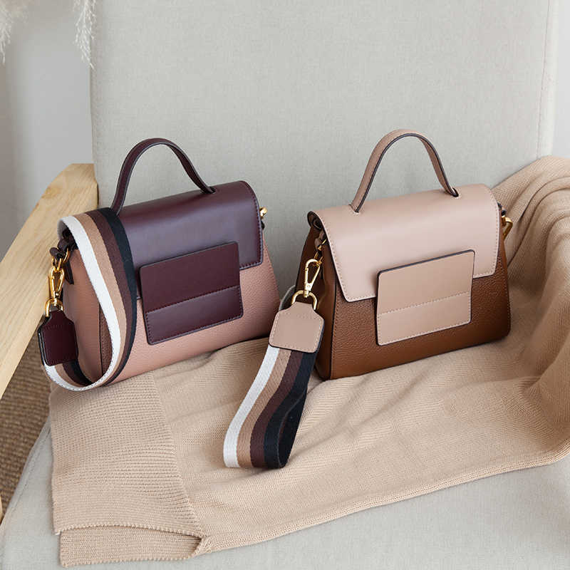 VENOF Мода ретро широкие ремни из натуральной кожи сумка на плечо для женщин роскошная женская сумка через плечо изысканные дамские ручные сумки 2018