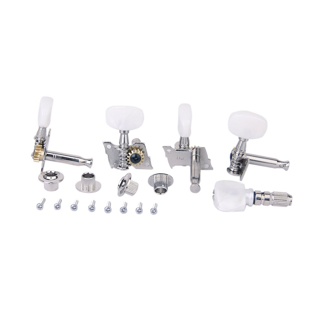 SALES 5x 5pcs/Set Banjo Machine Head Tuning Tuner Peg/Key with 4 Bushings sews alice aos 020b1p 2pcs left right classical guitar tuning key plated peg tuner machine head string tuner