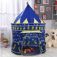 Portable jouer enfants tente enfants intérieur extérieur océan balle piscine pliant Cubby jouets château Enfant chambre maison cadeau pour les enfants