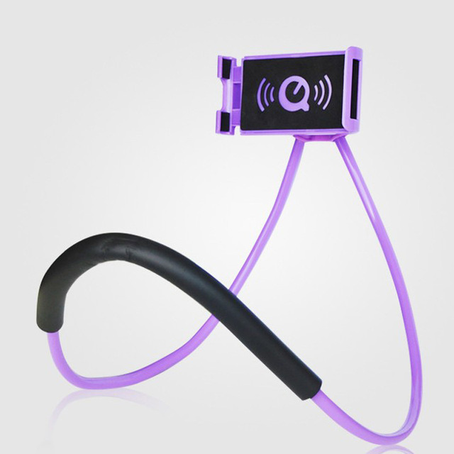 Soporte Universal de 360 grados de rotación Flexible de teléfono para cuello 2