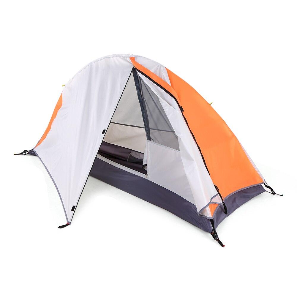 2019 détachable Camping tente 1 personne randonnée escalade dormir plage tentes lumière du soleil abri Camping Cabana étanche Camp tentes
