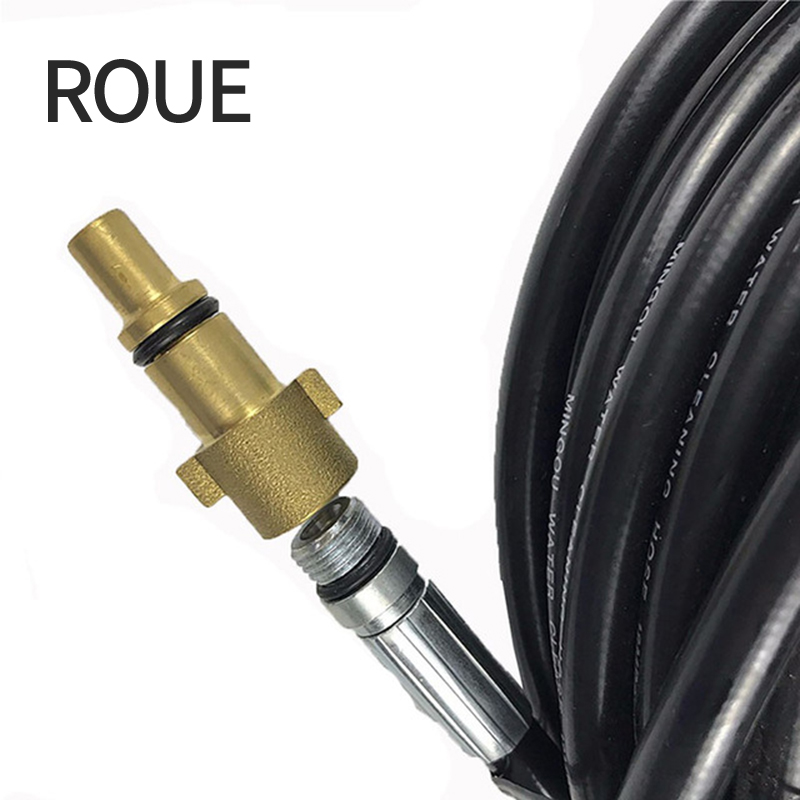 """NIilfisk Compact Compatible Jet Wash Quick Release Adaptor Hose To 1//4/""""M B.S.P"""