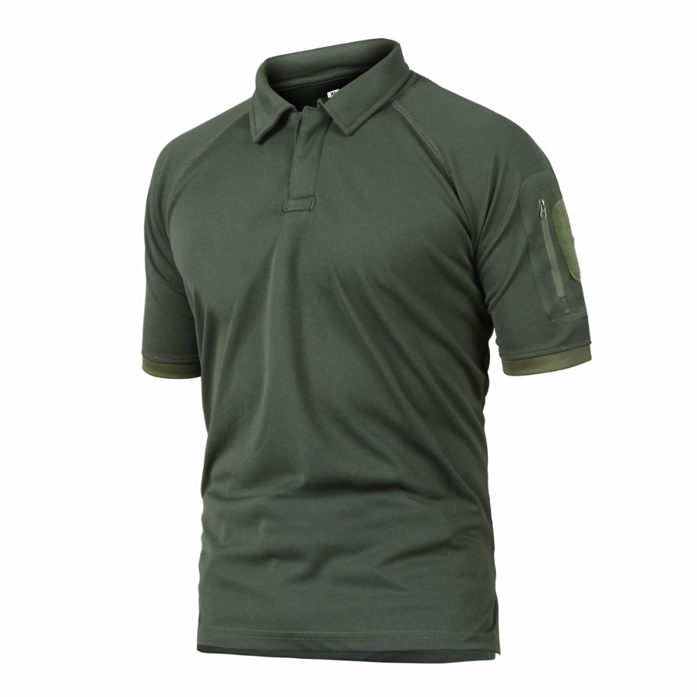 Unisex Hiking T Shirt Outdoor Camping Climbing Polo Shirts Quick Dry Men Tactical Army T Shirt Trekking Walking Tees Sport Tops grid hollow design t shirts in army green