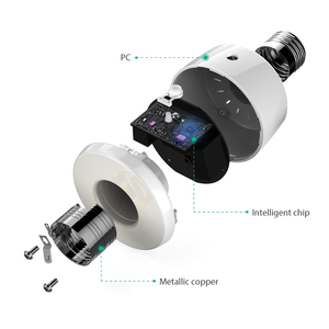 Image 4 - Koogeek E26 Wifi inteligentne gniazdo żarówki Adapter inteligentna lampa Siri inteligentne zdalne sterowanie głosem dla Apple HomeKit [tylko dla IOS]