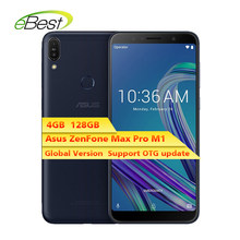 Versi Global Asus Zenfone Max Pro M1 ZB602KL Smartphone 6 Inch 4 GB 128 GB 4G LTE Snapdragon 636 touch 5000 MAh Ponsel(China)