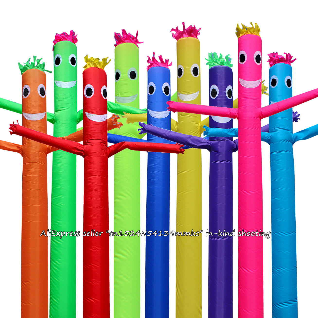 10ft 12inch Air Dancer Sky Dancer Inflatable Tube Dance Puppet Wind Flying Promotional Commercial Inflatable Bouncers