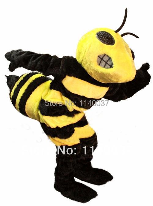 Mascota de înaltă calitate Hornet albină Mascot costum Adult - Costume carnaval