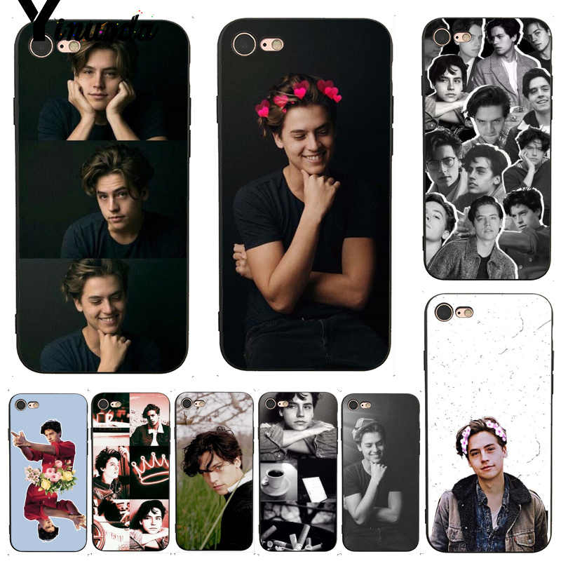 Yinuoda For iphone 7 6 X Case American TV Riverdale Series Cole Sprouse Soft Phone Case for iPhone 7 6 X 8 6s Plus 5 5S SE 5C