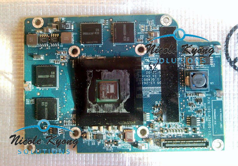 100% Working X600 128M GD294 W5378 W5379 VGA Video Graphics Card For Dell Inspiron 9200 9300 D810 M70