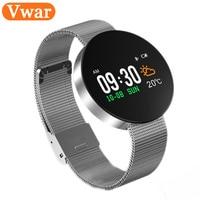 2018 Vwar A2R IP67 Waterproof Bluetooth Smart Wristband Bracelet Blood Pressure Heart Rate Monitor Band Fitness