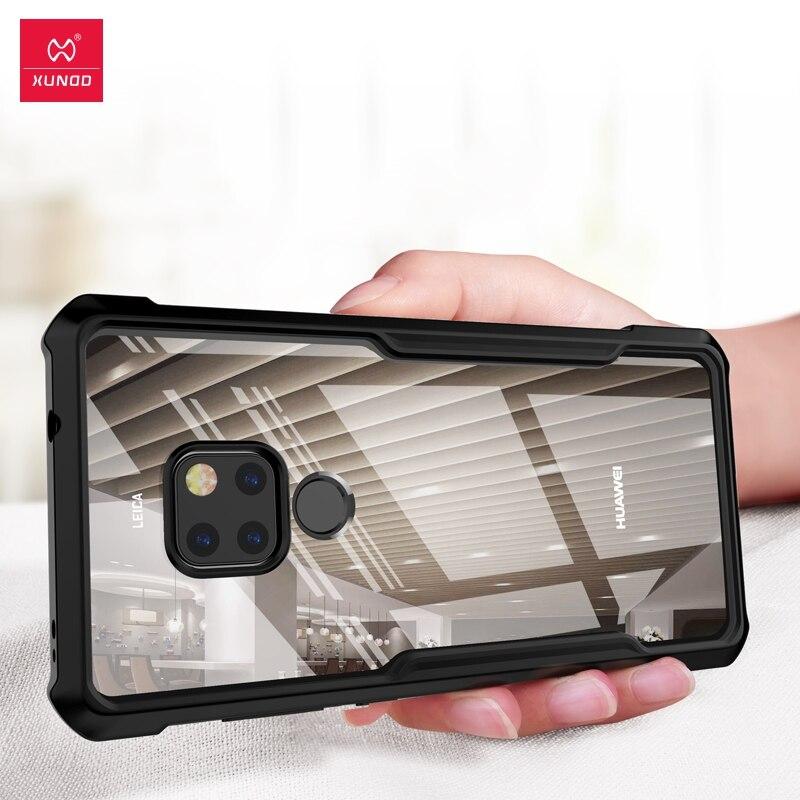XUNDD Stoßfest telefon fall für Huawei 9X Mate 20 Pro X Mit Airbags Schutz Ring Schutzhülle Für Huawei 9X pro