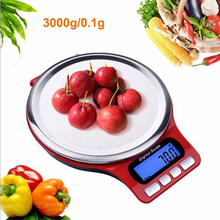 Gorelax 3kg 0.1g Digital Kitchen Scales,LCD Electronic Precision Balance Libra,Food Fish Tea Jewelry Weight Scale Kitchen Scales