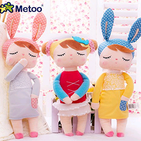 Cute Metoo Angela Rabbit Dolls Cartoon Animal Design Stuffed Babies Plush Doll for Kids Birthday Christmas Gift Children Toy Pakistan