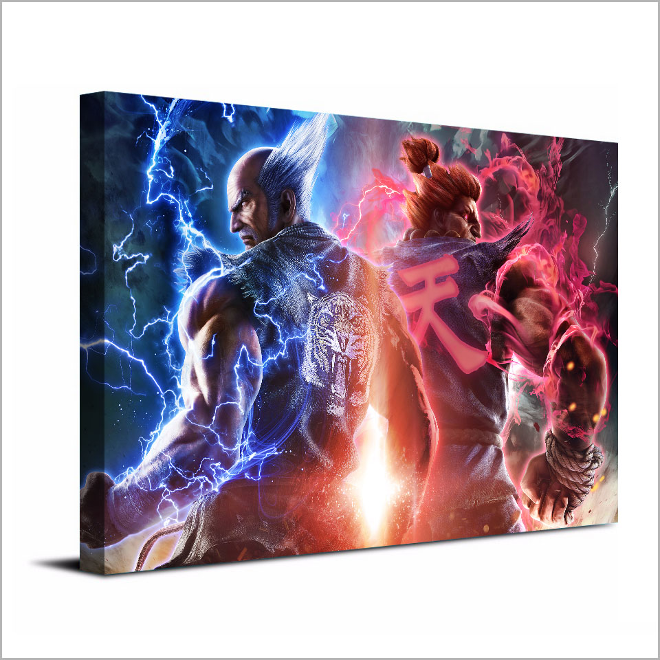 1 Piece Canvas Art Painting Game Tekken 7 Heihachi Hd Printed Wall Home  Poster Pictures Living Room Xa1502c