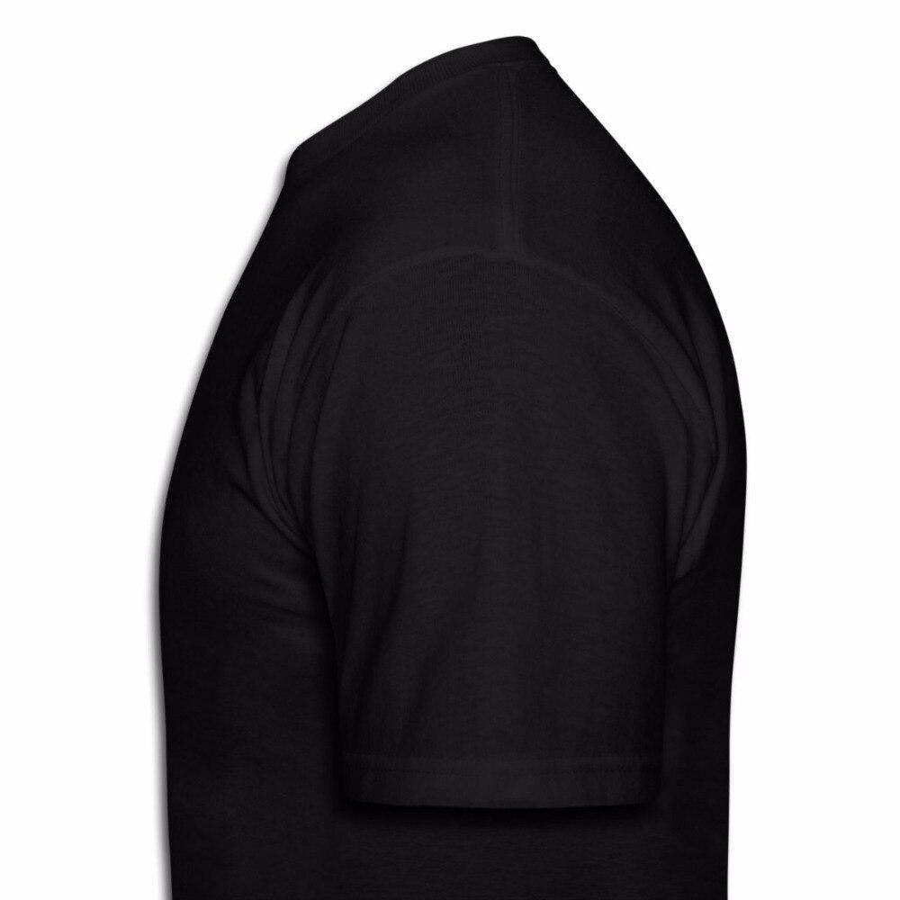 Make Your Own Shirt Mens New Season The Prisoner Mens Black T-Shirt Asian Size S 3XL Short Printing Machine O-Neck T Shirts