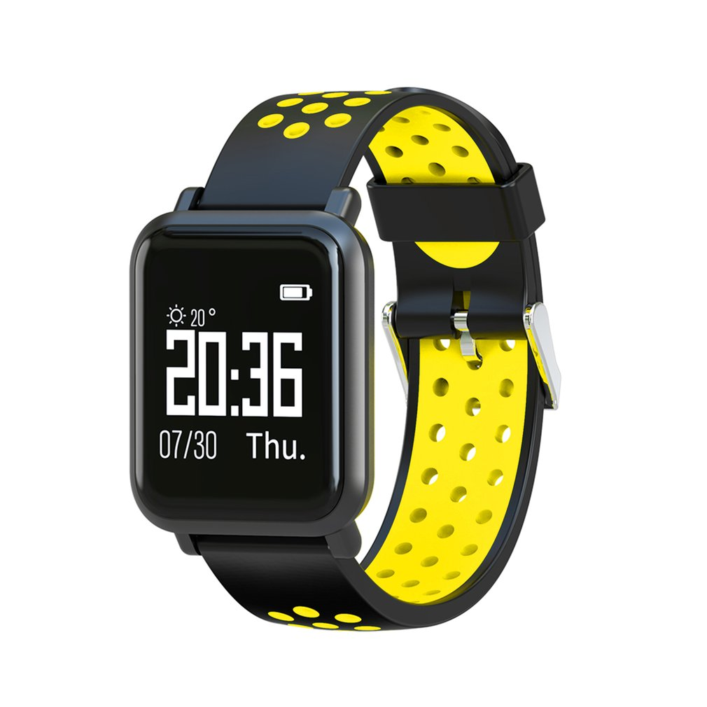 SN60 Soft Silicone Strap Smartwatch Heart Rate Sleep Monitor Waterproof Sports Smart Band Remote Camera 4.0 Bluetooth Watches