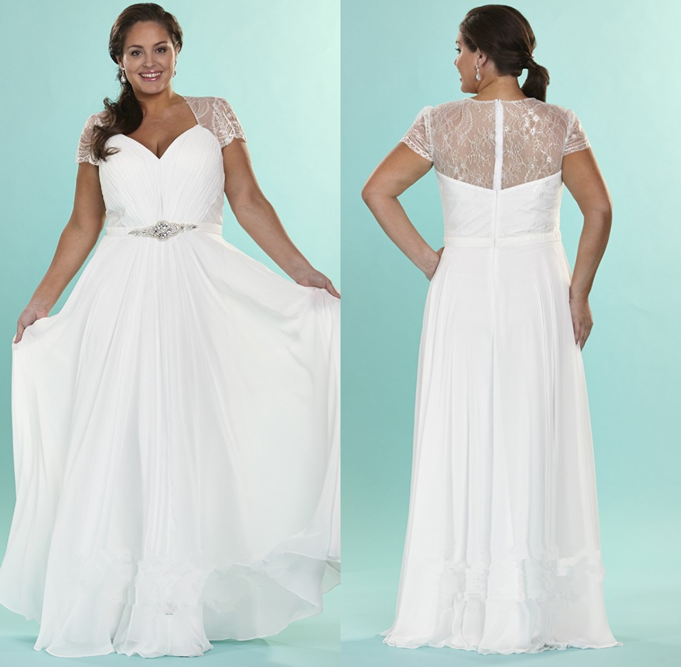 Awesome Short Chiffon Wedding Dresses Illustration - All Wedding ...