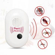 Ultrasonic Pest Repeller Plug in Pest Reject, Electric Pest Control Repellent for Bed Bugs, Cockroach, Rat, Spider, Flea, Ant цена и фото