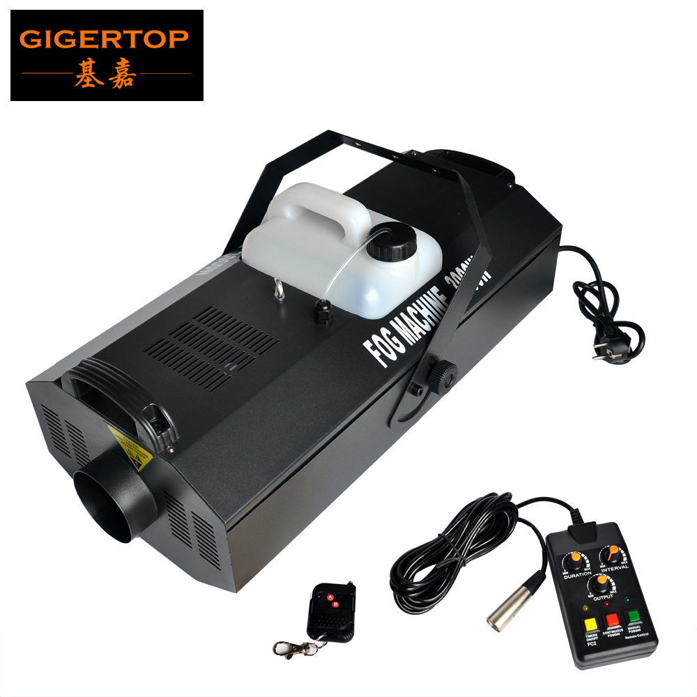 Free Shipping 3000W Fog Machine Remote Control+DMX512 Wireless Control 3000W Smoke Machine 90V/240V Stage Effect Equipment
