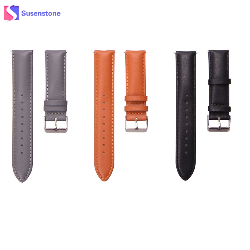 20mm Genuine Leather Watch Strap Band For Samsung Galaxy Gear S2 Classic R732 Wrist Watchband Replacement Straps genuine leather watch band strap for samsung galaxy gear s2 classic r732 black