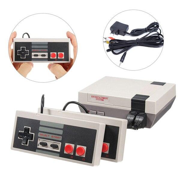 Mini TV Handheld Family Recreation Video Game Console AV Port Retro Built-in 620 Classic Games Dual Gamepad Gaming Player 5