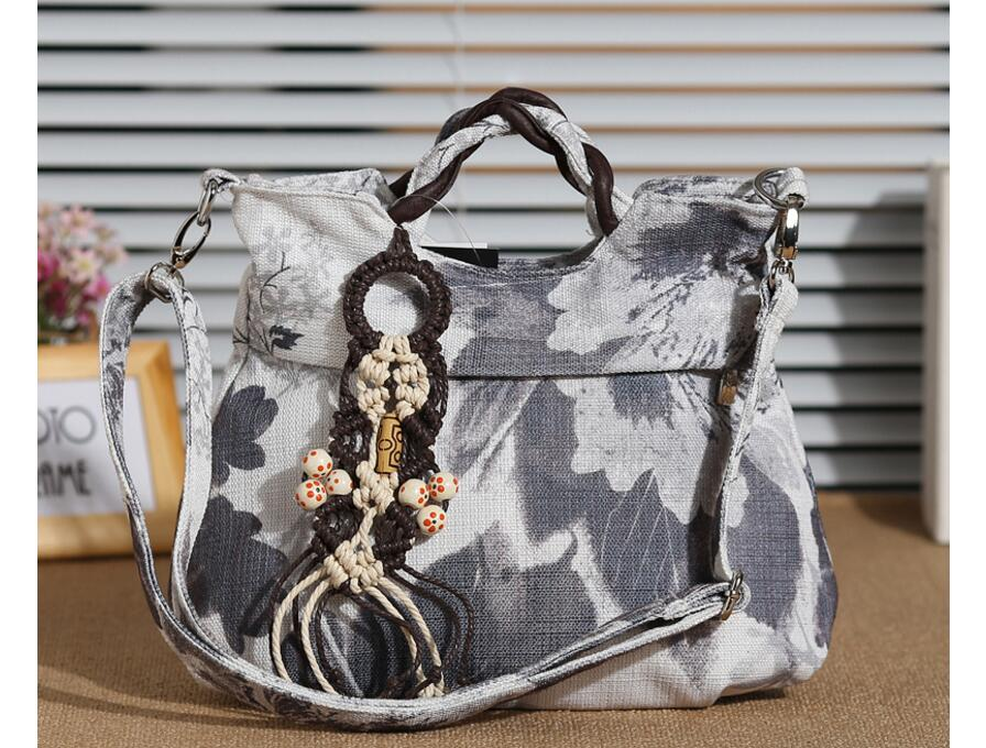 New Fashionable Appliques Women bags!Hot Lady casual Shopping Shoulder&Handbag Top Multi-use Woven Shoulder bags National Holder