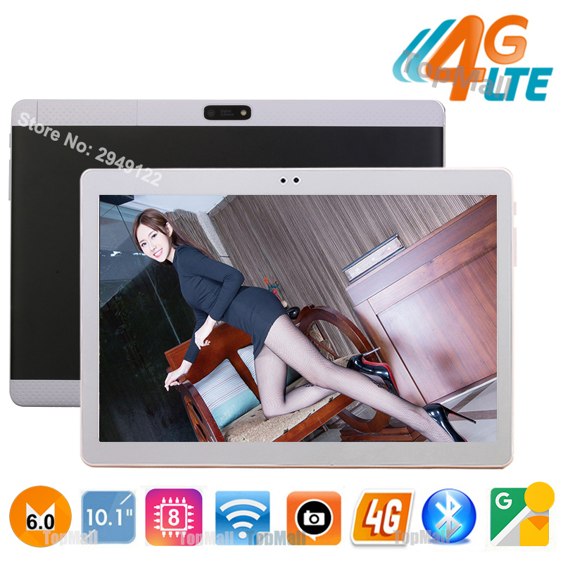bilder für 2017 heiße Neue 10 zoll 3G 4G FDD LTE Tablet PC Octa Core 1920*1200 IPS 8.0MP 4 GB 32 GB Android 6.0 Bluetooth GPS Tablet 10,1 + Geschenke