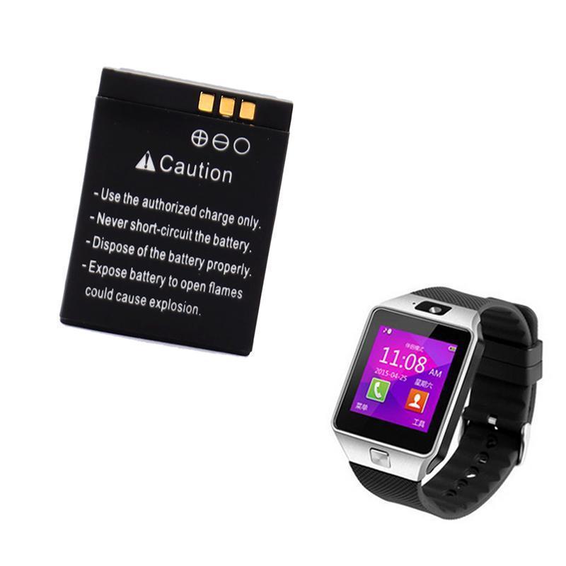 For DZ09 <font><b>Smart</b></font> <font><b>Watch</b></font> <font><b>Battery</b></font> 380mAh Replacement Li-ion Polymer Backup <font><b>Battery</b></font> for dz09 <font><b>smart</b></font> <font><b>watch</b></font> phone batteria
