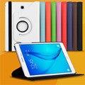 Para Samsung Galaxy Tab A 9.7 pulgadas T550 550 Tablet PC nuevos negocios PU funda de cuero con soporte del tirón de la cubierta del caso del Protector