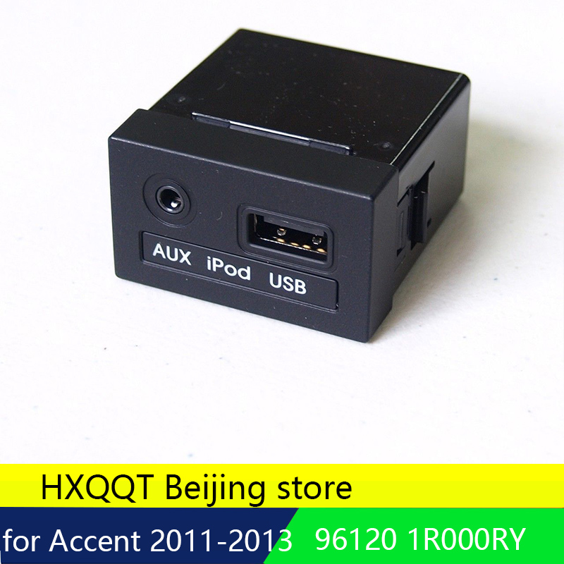 Oem Genuine Usb Reader Ipod Aux Port Adapter For Hyundai: OEM Genuine 961201R000RY JACK ASSY AUX & USB For Hyundai
