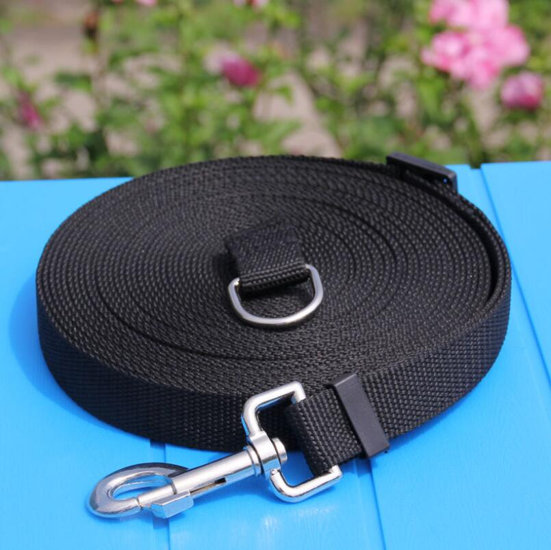 Pet Dog Lead Leash for Dogs Cats Nylon Walk Dog Leash Selected Size 1.5M 1.8M 3M 6M 10M Outdoor Security Training Dog Harness 1