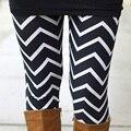 Mujeres Muchachas de La Manera Elegantes Pantalones Palazzo Pierna Estrecha A Rayas Delgado de Cintura Alta Largos Pantalones Casuales Leggings