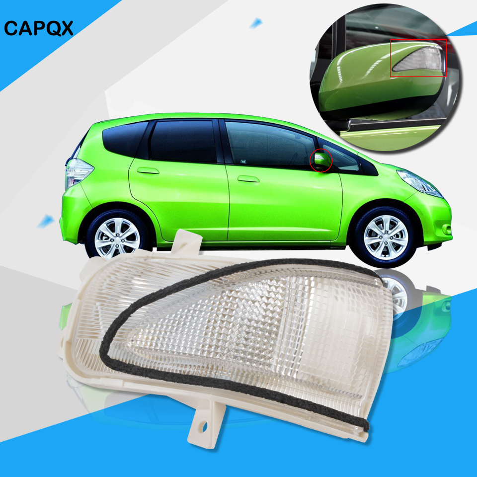 Outer rearview side mirror turn signal lamp indicator led light for honda fit jazz 2009 2010 2011 2012 2013 2014 left and right