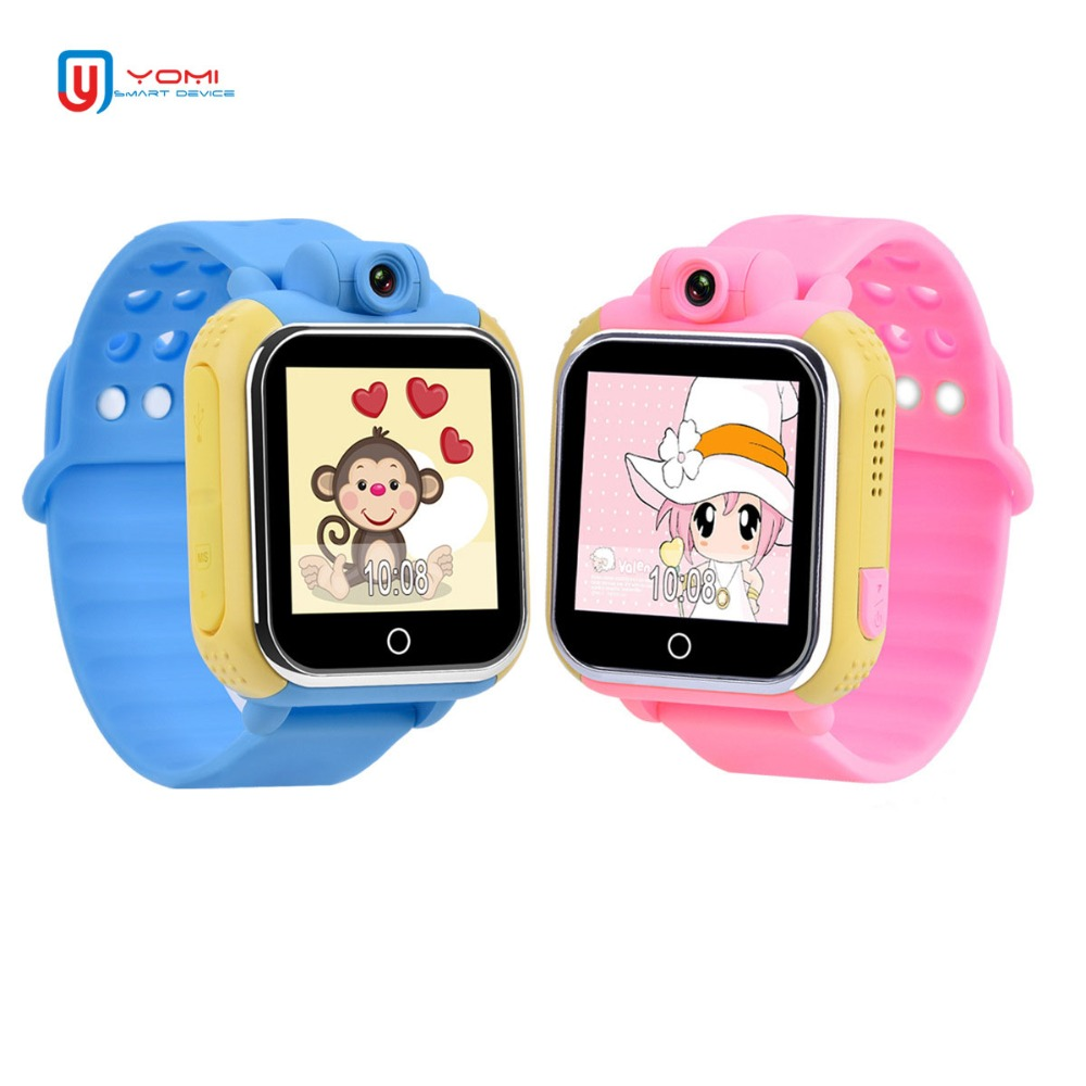 3G Kids Smartwatch Android IOS Support SIM Card GPS WIFI LBS Tracker SOS Call Anti-lost Alarm Pedometer Smart Watch for Baby стоимость
