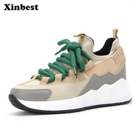 Xinbest 2018 New Woman Brand Outdoor Athletic Women Running Shoes High quality fabric Outdoor Jogging Sport Shoes For Women