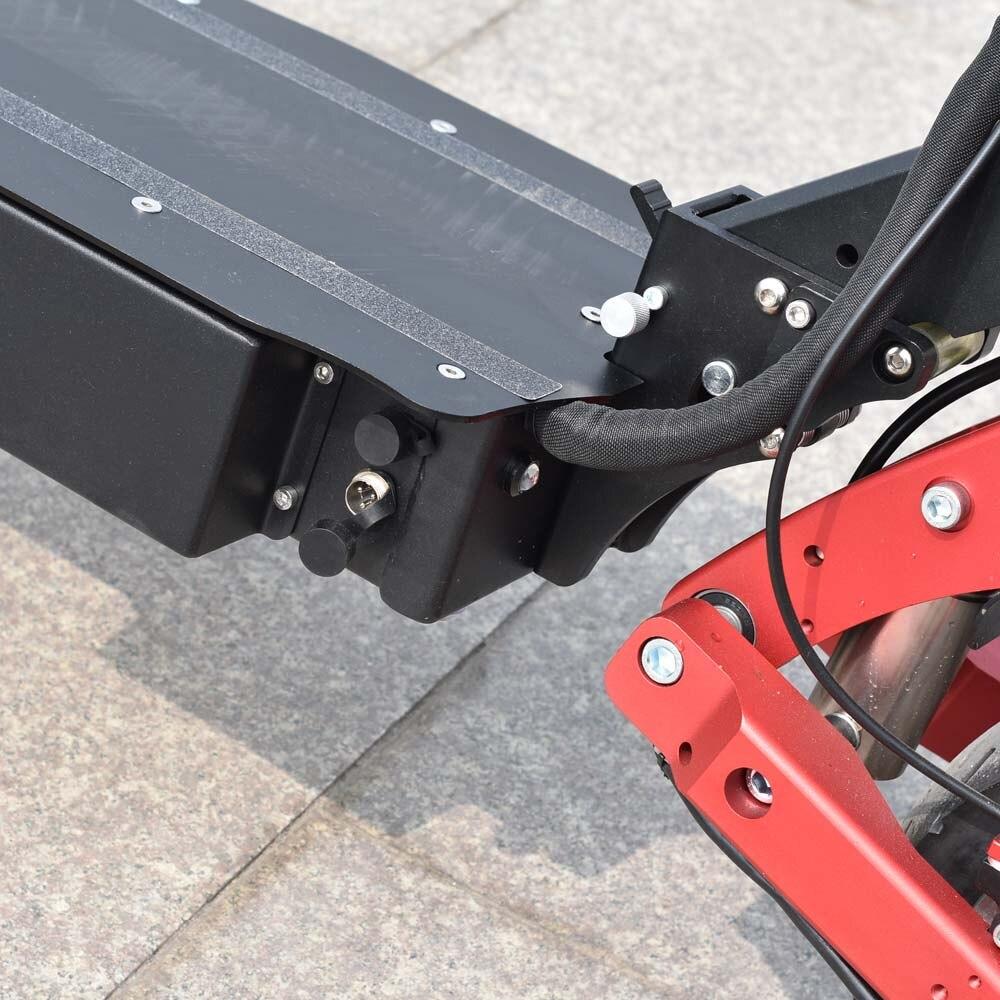 Ville scooter meilleur scooter bon marché citycoco 2 roue fat tire vélo électrique 3200 W 60 V avec Voltmètre - 4