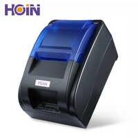 HOIN HOP-H58 Thermische Drucker Erhalt Maschine Druck Unterstützung USB Verbindung POS 58mm 70 mm/s EU Stecker