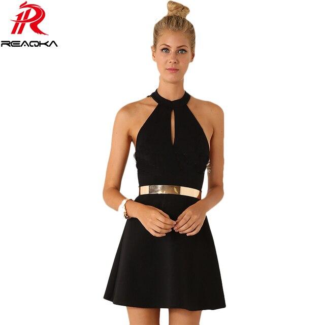 2015 Женщин Старинные Платья Bodycon Партии Мини Повязку Dress Черный Backless Dress Sexy Stretch Dress Бесплатная Доставка