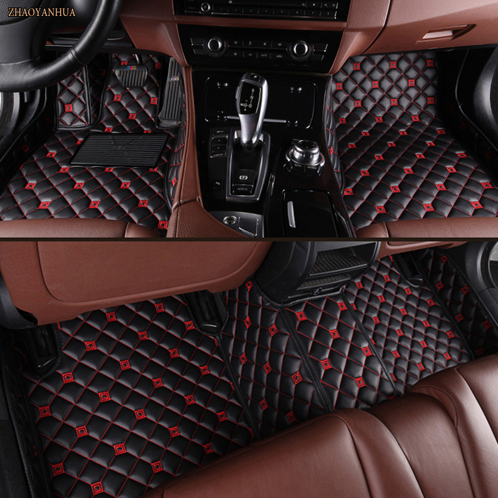 ZHAOYANHUA Car floor mats Case for Mercedes Benz A C200 E260 CL CLA G GLK300 ML S350/400 leather Anti-slip car-styling carpet liZHAOYANHUA Car floor mats Case for Mercedes Benz A C200 E260 CL CLA G GLK300 ML S350/400 leather Anti-slip car-styling carpet li