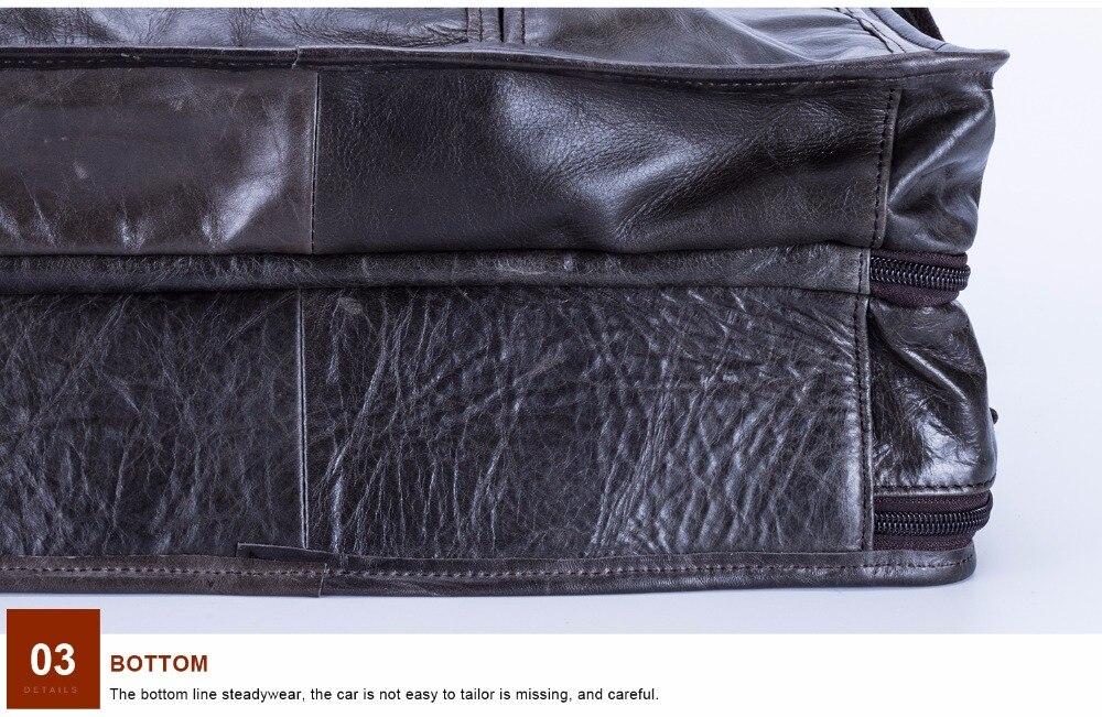 HTB1X4GDkL6H8KJjy0Fjq6yXepXaN JOYIR Genuine Leather Men Briefcases Laptop Casual Business Tote Bags Shoulder Crossbody Bag Men's Handbags Large Travel Bag