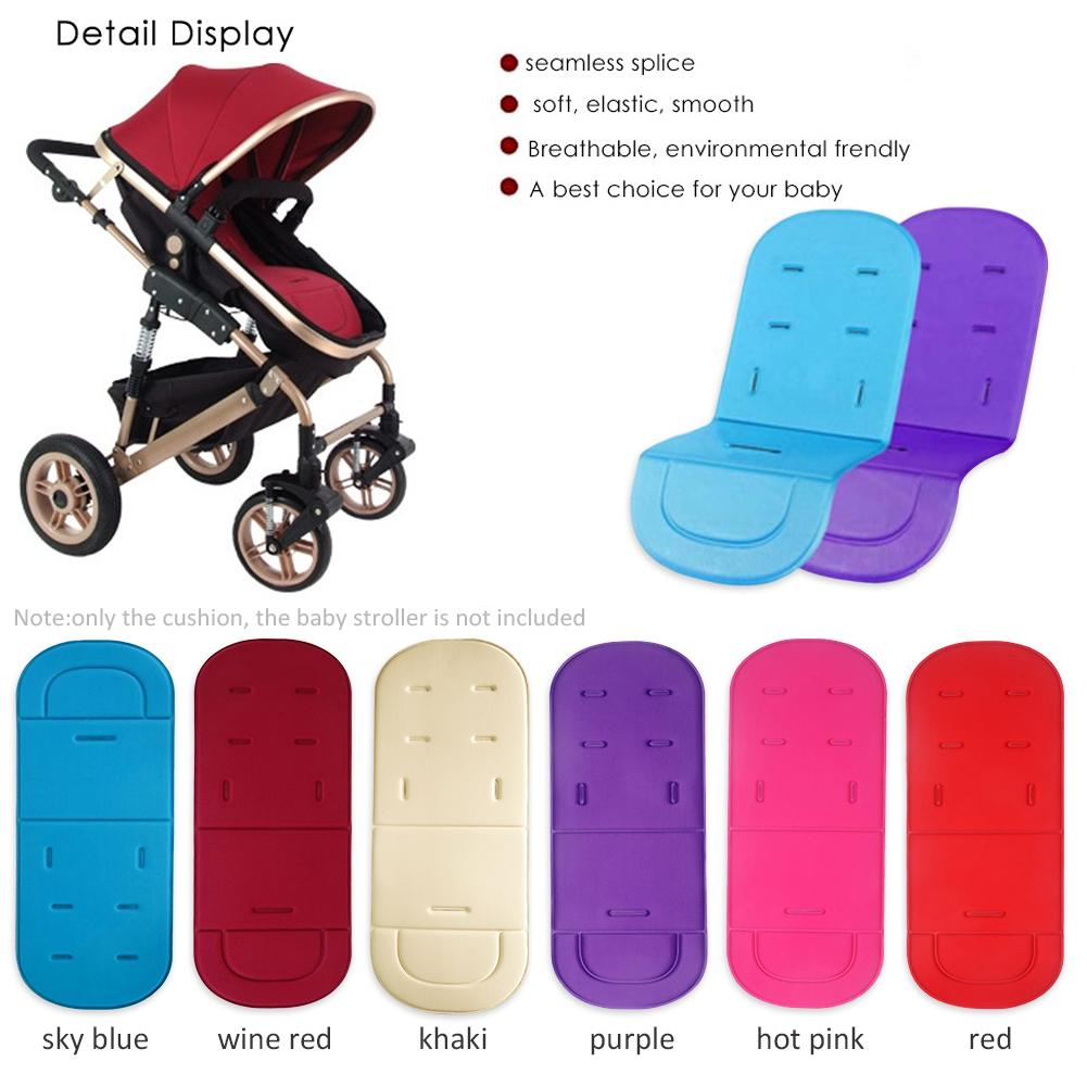 Infant Newborn Folding Soft Cotton Stroller Cart Carriage Seat Pad Cover  Cushion Mat For Baby Stroller Part