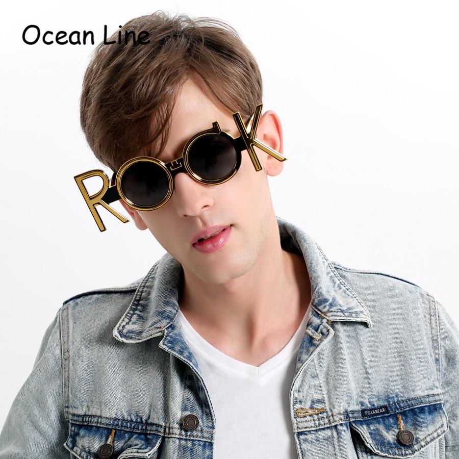 Syzet e rrumbullakëta të artë prej syze Dielli Risat e diellit - Furnizimet e partisë - Foto 2