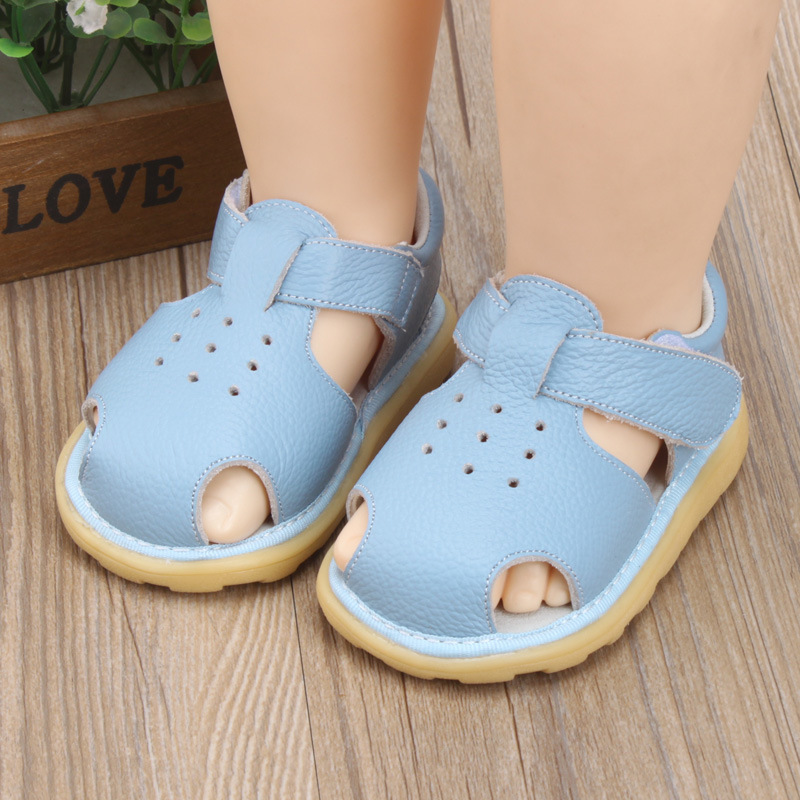 Summer Children Baby Sandals Boys Summer Shoes Girls Toddler Shoes Kids Leather Non-Slip Sandals Infant Casual Sneakers Shoes