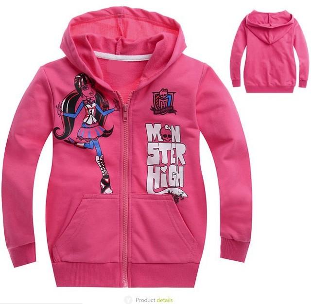Nuevo 2013, otoño invierno ropa infantil, la alta moda de chicas ropa, bebé, muchacha de los cabritos, los niños de los hoodies, niños prendas de vestir exteriores