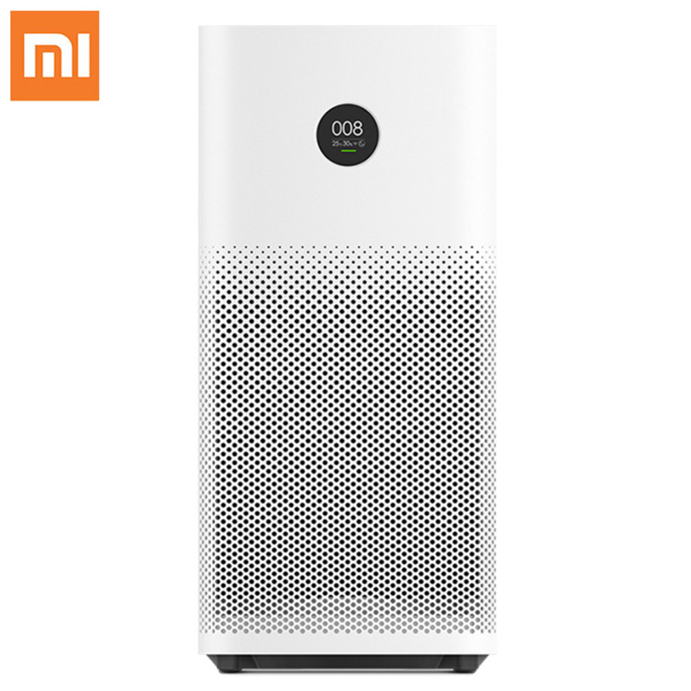 все цены на Original Xiaomi Air Purifier 2 2S Sterilizer Addition to Formaldehyde Cleaning Hepa Filter Mijia Smart APP WIFI RC OLED Display онлайн