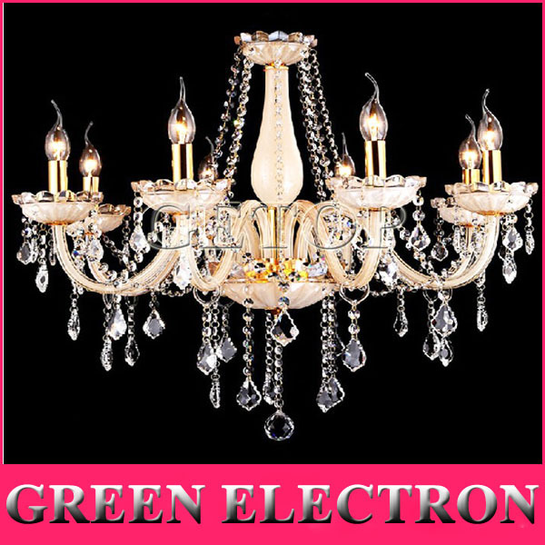 European Pastoral Crystal Chandelier Mediterranean Living Room Lights Restaurant Bedroom Crystal Lamp Modern Lighting Fixtures a1 master bedroom living room lamp crystal pendant lights dining room lamp european style dual use fashion pendant lamps