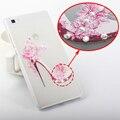 Diamond 3D Bling Case Высокое Качество Для Huawei P8 Lite Case крышка P8 Lite Case Мода Горный Хрусталь Чехол Для Huawei P8 Lite крышка