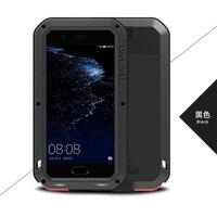 For Huawei P10 Plus 5 5 LOVE MEI Original Shockproof Dirtproof Waterproof Aluminum Metal Case For